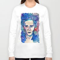 tom hiddleston Long Sleeve T-shirts featuring Tom by Sara Cooley