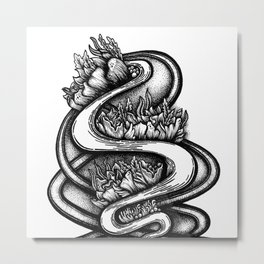 Arbour Metal Print