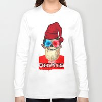 xmas Long Sleeve T-shirts featuring Xmas by Marko Köppe