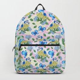 Bluetit pattern Backpack