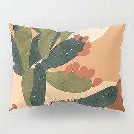 Prickly Pear Cactus Pillow Sham