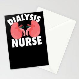 Dialysis Nurse Kidney Graphic Nurse Nursery Kidney Stationery Cards