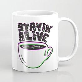 Stayin' Alive in 3D Coffee Mug