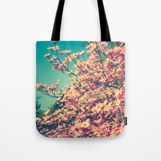 Her Favorite Color was Pink Flowers Tote Bag