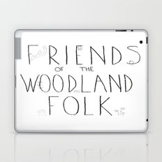 Friends of the Woodland Folk Laptop & iPad Skin