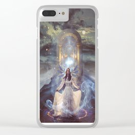 Hostage to the Light Clear iPhone Case