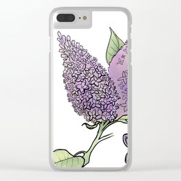 Lilac: Joy of youth Clear iPhone Case