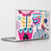 magic the gathering Laptop & iPad Skins featuring Gathering by Rachel Lee