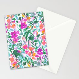 Upside Floral (Time Lapse) Stationery Cards