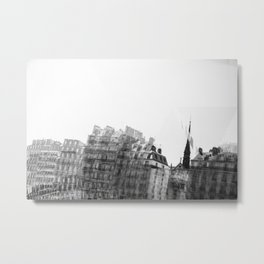 I dreamt in black and white once Metal Print