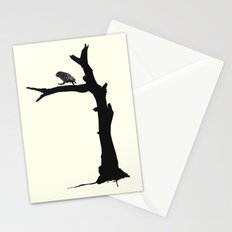 The Little Owl In The Tree Stationery Cards