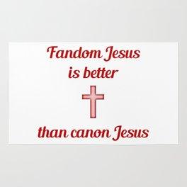 Fandom Jesus Rug