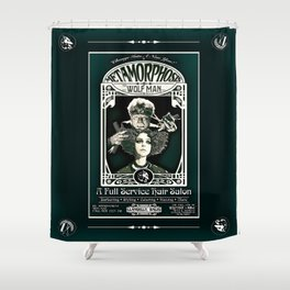 Metamorphosis by The Wolf Man: A Full Service Hair Salon (Vintage) Shower Curtain