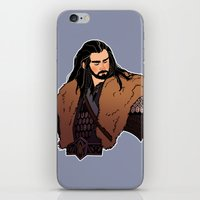 thorin iPhone & iPod Skins featuring Thorin by rdjpwns