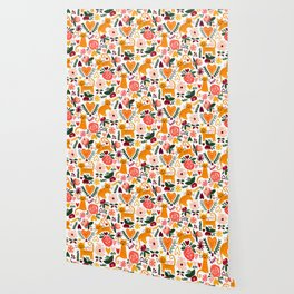 Valentine Cats Wallpaper