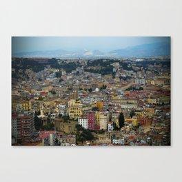 Napoli view Canvas Print