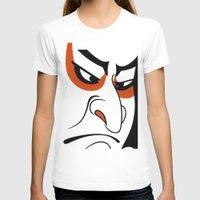 samurai T-shirts featuring Samurai by Popp Art