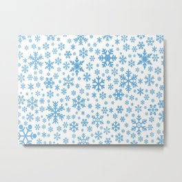 snow flake Metal Print