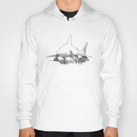 pilot Hoodies featuring Pilot Fish by Eric Fan