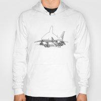pilot Hoodies featuring Pilot Fish by Eric Fan