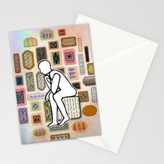 Thinking Man Stationery Cards