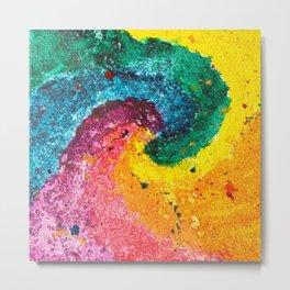 Rainbow Abstract #8 Metal Print