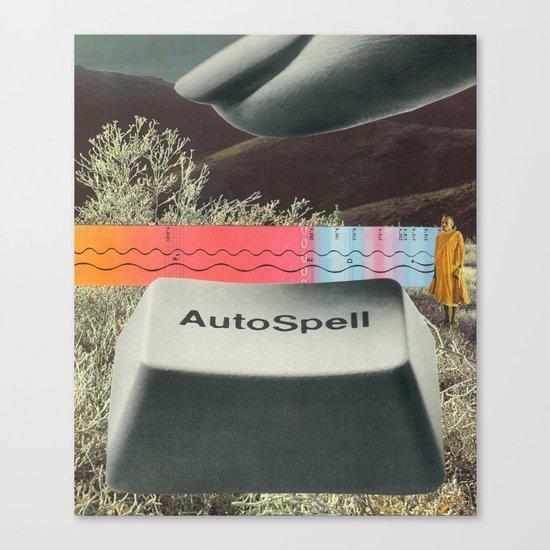 autospell Canvas Print