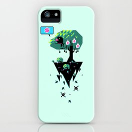Greedy Grackle iPhone Case