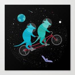 Space Ride Canvas Print