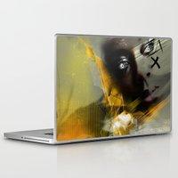 grace Laptop & iPad Skins featuring Grace by gwenola de muralt