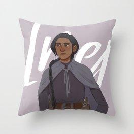 Inej Throw Pillow