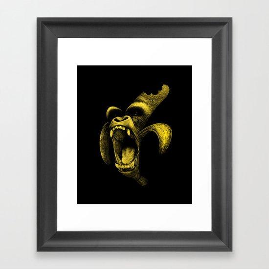 This Sh*t is Bananas Framed Art Print