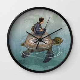 Endless Journey Wall Clock