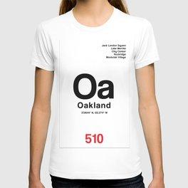 Oakland City Poster T-shirt