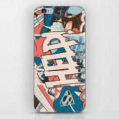 Save us. iPhone & iPod Skin