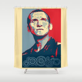 Doctor Who Hope Shower Curtain