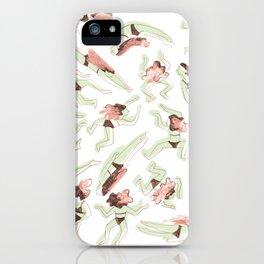 Swimming Girl iPhone Case