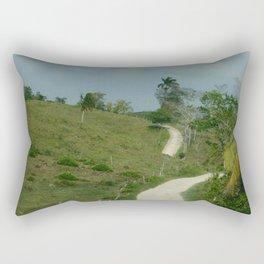 Road to Barton Creek Rectangular Pillow