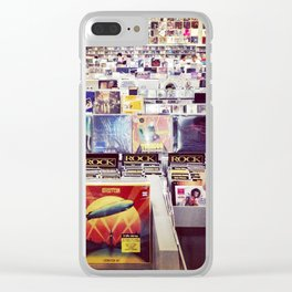 Record Store Clear iPhone Case