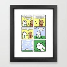 Antics #319 - job hunting Framed Art Print