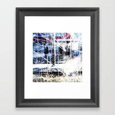 Through it all Framed Art Print