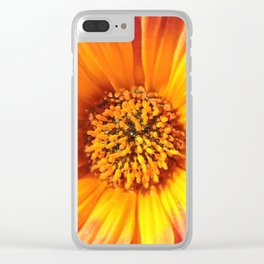 A March 1st Colorburst Clear iPhone Case
