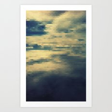 Just Above Art Print