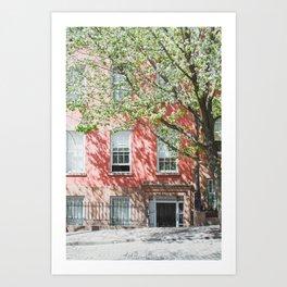 Brooklyn Heights in Spring Art Print