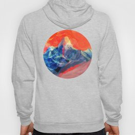 Abstract Mt. Everest Hoody