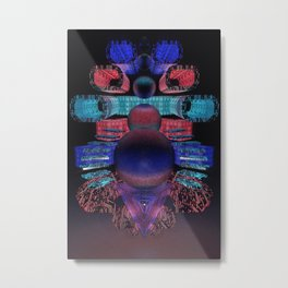 Tracer Tower Metal Print