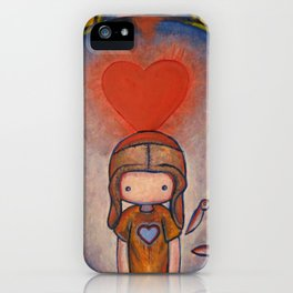 The Robot Who Stole My Heart iPhone Case