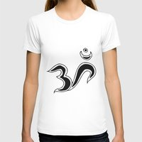 om T-shirts featuring Om by Dror Designs