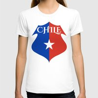 chile T-shirts featuring Chile by jekonu