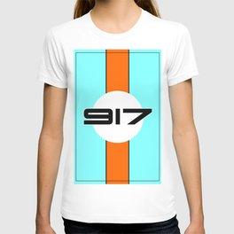 917 Gulf Racing Design T-shirt